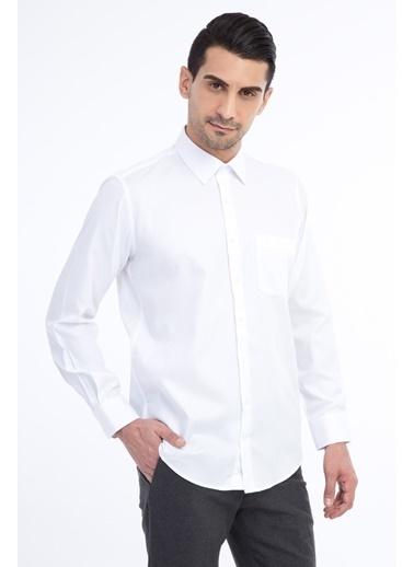 Kiğılı Gömlek Beyaz